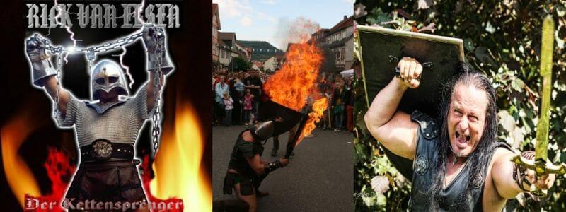 Feuerschwert-Ritterkampf
