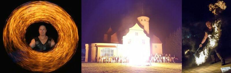 Mittelalter-Feuershow Feurshow-MIttelaltermarkt