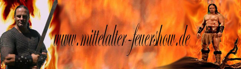 Ritterkampf,Mittelalter-Feuershow