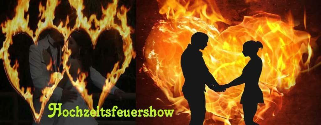 mittelalterhochzeit, Feuershow