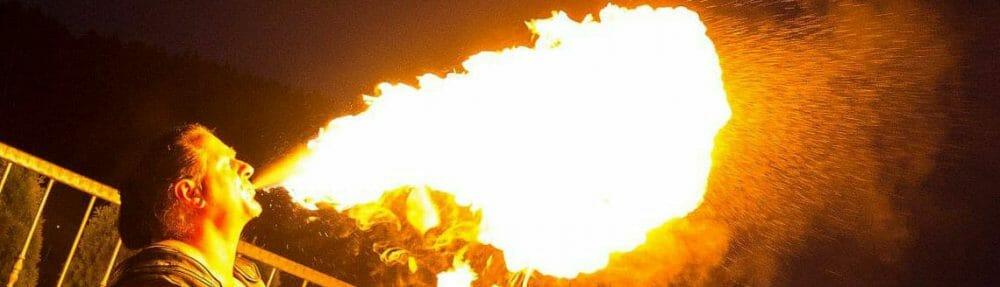 Mittelalter-Feuershow