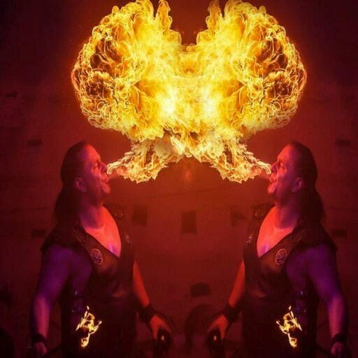 Feuershow Mittelalter